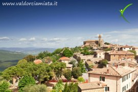Visit Montalcino the city of Brunello