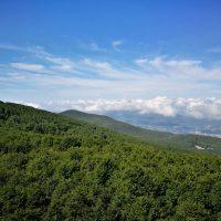 Panorama dalla vetta Amiata