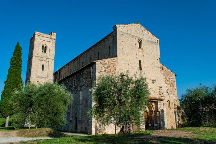 Abbazia di Sant'Antimo - facciata