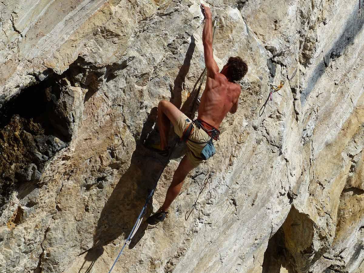 free climbing Amiata