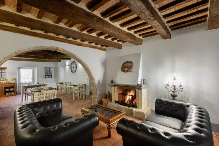 Living Room B&B Gli Archi