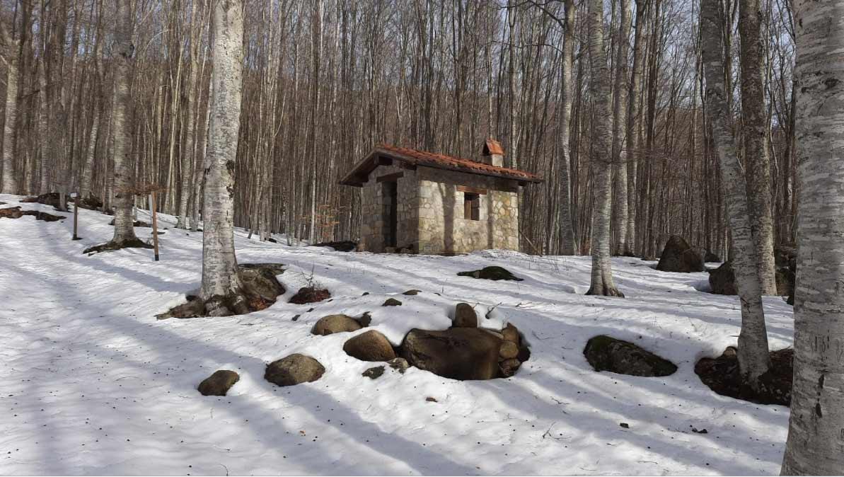 rifugio capomacchia monte Amiata